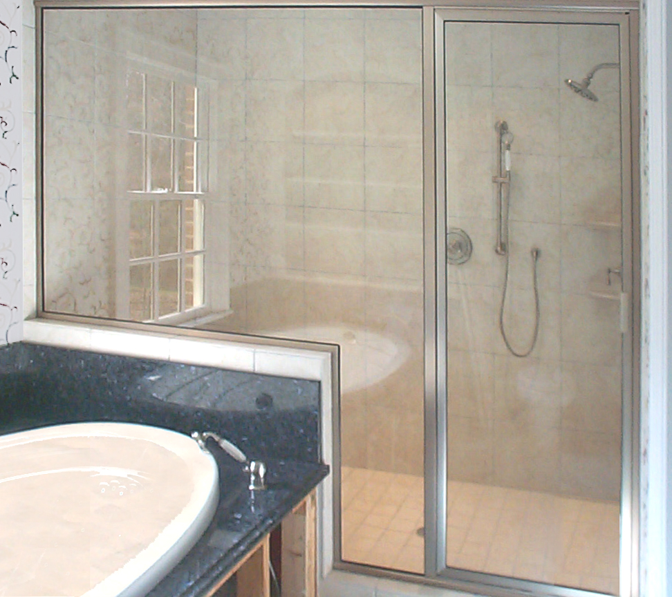 3A Framed inline shower door prelim